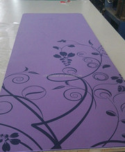 good quality natural fitness folding yoga mat
