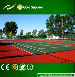 China turf grass for tennis court/basketball field (SGS ROHS CE) customized synthetic turf grass for sport flooring