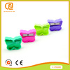 Butterfly design plastic pencil sharpener for kids