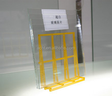 Frameless Sheet Glass, Extra Clear Float Glass For Doors, Windows, Balustrade, Ceilings With CE Certification (3.2MM-15MM)