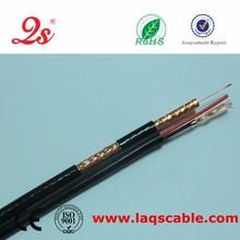 De alta calidad del cable coaxial rg59,televisión por cable, conductor de cobre rg59+2c cabledecámara