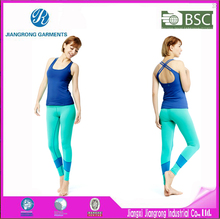 BV BSCI SQP WCA Manufacture yoga set,polyester/spendex yoga cloth,fitted yoga wear