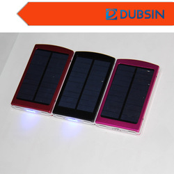 Charging All Mobile Devices Cheap Solar Travel Power Pack 10000mah with Solar Recharging