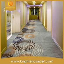 Modern design hotel corridor anti-slip striped carpet