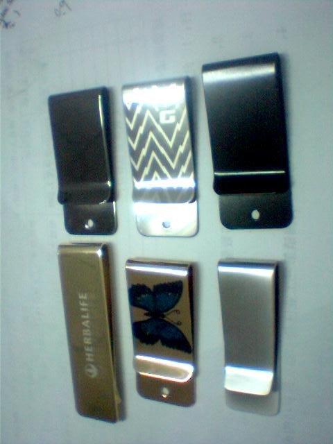 De oro billetera, Plata billetera, Billetera billetero metal, Carpeta
