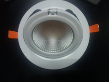 CE ROHS 6 Inch Led Shop Lighter/35w round led shop light/Adjustable led retrofit downlights