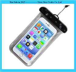 Hot sale new design OEM service mobile phone pvc 100% waterproof bag