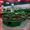 High Class Store Acrylic Vegetable Fruit Display Stand By Manufacturer YD-0651