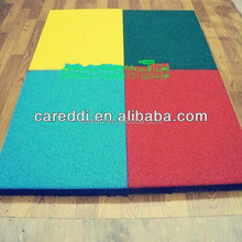 Best Sale Colored Good Elasticity Rubber Basketball Flooring