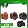 Professional dslr camera bag leather