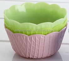Plastic Cake Bowl with gift box packing