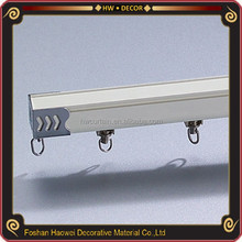 decorative sliding track aluminum curtain tracks and curved curtain ceiling mount rails
