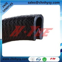 HongYue waterproof extrusion rubber seal gasket for rubber components