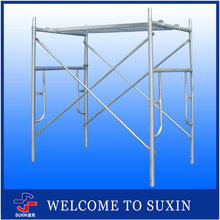Hot Dipped Galvanized Frame System Scaffolding For Construction Building