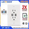 lacework home plug wall socket adapter usb output 5V 3.6A