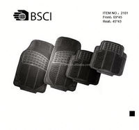 BSCI Audited Heavy Duty Car Mobile Rubber Mat