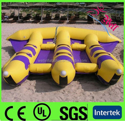 inflatable flying fish tube towable / inflatable banana boat flying fish