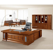 Antique solid wood executive office furniture for boss office
