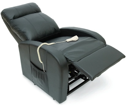 Leather Recliner Remote Control Reclining Lift Chair