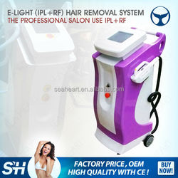 2016 Good quality hot sale multifunctional beauty equipment e light ipl rf system