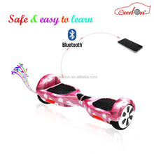 Qeedon high quality standing up smart scooter best self balancing hover board hot selling