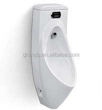 bathroom ceramics wall flush mount mens urinal