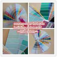 color chart / card / fandeck / shade codes for wall paint