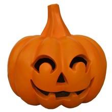 Giant fiberglass Halloween pumpkin for outdoor decoration