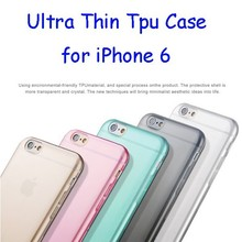 2015 Amazon Top Selling Ultra thin TPU Mobile Phone Case for iPhone 6