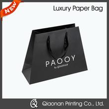 Eco-friendly Hot Foil Custom Paper Bag for Shopping