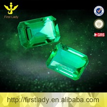 Loose Gmestone VVS 4*6mm 0.537ct Natural Colombian Emerald Prices