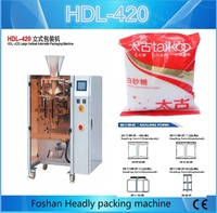 automatic weighing vffs sugar packaging machine