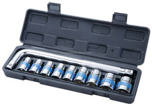 10 pcs L Square Wrench Set, Hand Socket Wrench Set