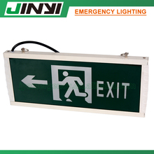 Low price rechargeable battery emergency exit sign lamp