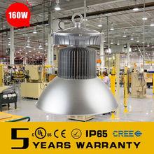 160w led high bay light industrial for indoor lighting