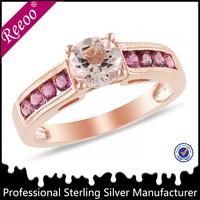 new fashion fine rings 925 silver gemstone jewelry