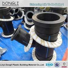 HDPE Fabricated fittings HDPE Butt Welding Flange Adaptor Fittings