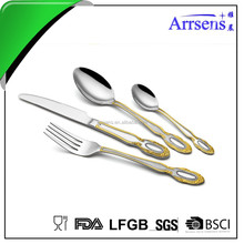 graceful cutlery set with nice design hot sell