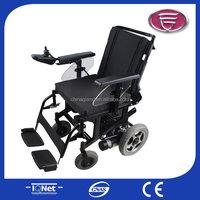 New launch power wheelchair/golden motor electric wheelchair/smart power wheelchair with bag