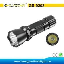 GS-9208 aluminium bright led flashlight, high power 1 watt flashlight