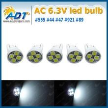 T10 194 Ba9s SMD Pinball LED AC/DC 6.3V 4pcs SMD LED 194SMD-P-4 W