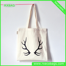 Customized cotton canvas tote bag, cotton bag promotional, Recycle organic canvas bag wholesale
