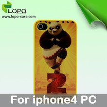 Blank sublimation PC cell phone case for iphone4