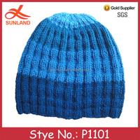 P1101 2015 best sell cheap men winter beanie hat fashion pattern