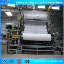1575mm Single-Dryer& Single-cylinder mould Tissue Paper Machine, paper towel making machine