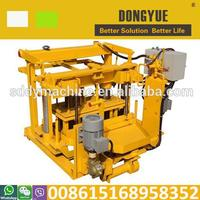 Egg laying type mobile block machines to make money