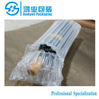 Travelers Wine Courier Packaging Air Bag, high quality air packaging for bottle,air inflated bags for red wine bottle