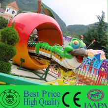 Kids Favorite Caterpillar Ride Sliding Worm Roller Coaster For Sale