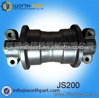 Jcb js200 js160 js180 js220 js240 js300track rouleau pelle jcb pièces jcb pièces de rechange, jcb pièces de châssis, jcb galet