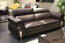 Italian Suede Imported Genuine Leather Sofa